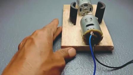 科技:电机采用直流电机工作