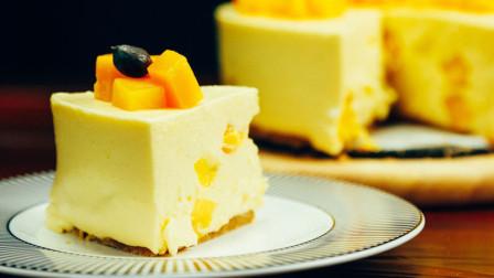 做一个吃到幸福感的芒果芝士慕斯
