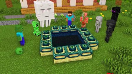 我的世界动画-怪物学院来到终界-iCraft