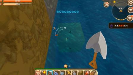 迷你世界故事43:海水实在引不过来了,沙盒大叔想出了个好办法