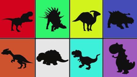 帮助4个恐龙宝宝找到妈妈