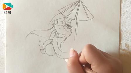 佰耀人物简笔画:简单绘制动漫人物,分析步骤和技巧