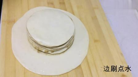 香酥脆软发面千层饼的家常做法,过程详细,做法简单,一看就会