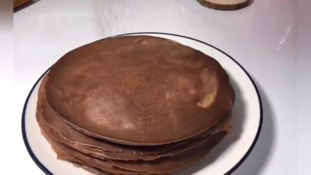 一天精心制作的可可千层蛋糕的家常做法, 该如何下手做?