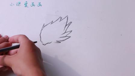 小伙素描画动漫人物,你们知道是谁?这也太像了吧