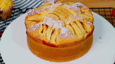 零基础学做苹果磅蛋糕,竟如此完美