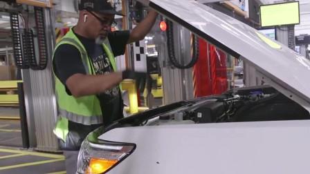 车友们有看过福特芝加哥工厂嘛,看下2020款福特探险出产!