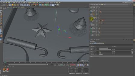 影视后期C4D三维动画第二个镜头C4D模型制作第三课