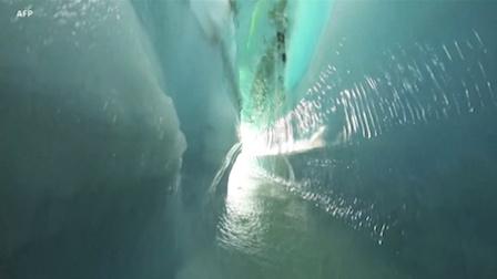 《走进美国》全球冰川每年损失3690亿吨冰雪