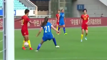 中国女足又火了, 这个传球连小罗都点赞! 国足长点心吧