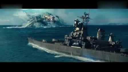 超级战舰:海面大炫技,漂移炮轰外星母舰,看的心潮澎湃!