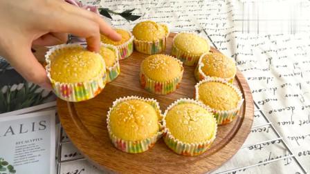 无水蜂蜜蛋糕的家常做法,没想到这么简单,想吃再也不用花钱买了