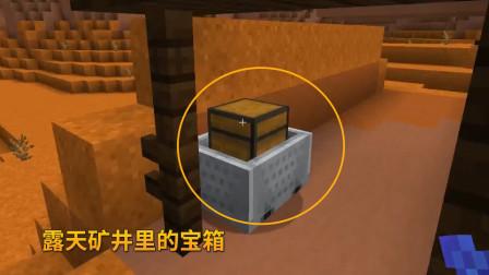 我的世界1.14联机97:粘土山地质特殊,我们发现了1个露天矿井