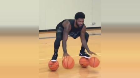 NBA球星欧文为你展示什么叫运球