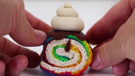 萌宝心手巧!怎么做一个美味又漂亮的彩虹卷蛋糕,快来看看吧!