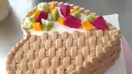 爱心满满生日蛋糕制作