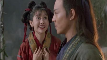 《倚天屠龙记》这是唯一智商在线的张无忌,李连杰演绎的经典到位