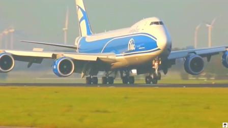 波音747-8 vs 波音747-400,飞机起降过程,你更中意哪架飞机?