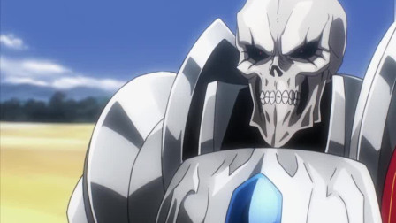 不死者之王(骨王)经典装逼现场系列选自Overlord第一季