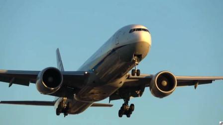夕阳中的洛杉矶国际机场,飞机就像归巢的鸟儿一样,陆续降落