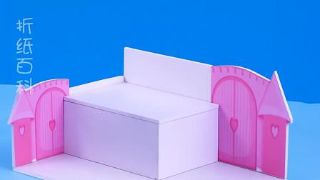 手工制作米老鼠主题迷你卧室,做法简单又漂亮,手工DIY教程