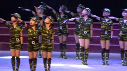 舞蹈《小红军》资中王云舞蹈培训学校