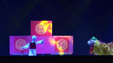 传统狮舞 《四川民间狮舞 》内江资中县木偶剧团