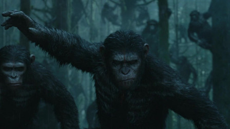 """猩球崛起2:猩猩进化出部落,不仅会武器,还有""""纹身"""""""