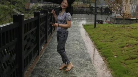 一首欢快的歌《春天的花夏天的雨》    演唱:黄鹤翔