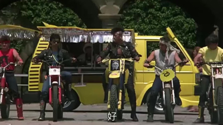 快餐车:成龙大哥化身送餐小哥,各种技能样样精通啊!