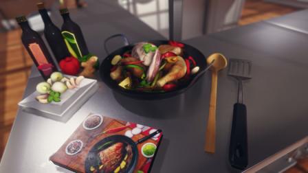 老池热游《料理模拟器》16期 德国土豆沙拉