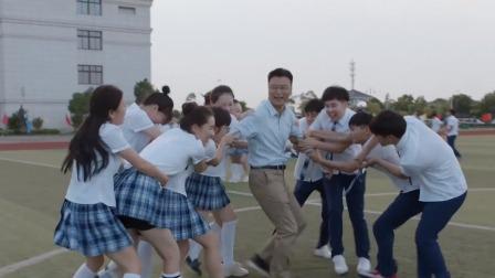 难忘毕业岁月,高三学生操场青春飞扬