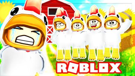Roblox虚拟世界小飞象解说 第一季 Roblox小鸡模拟器 我的毛居然能变颜色?