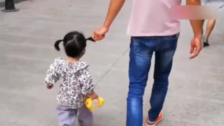 女儿:舅舅你等着,等我长大了,也给你编个小辫子玩