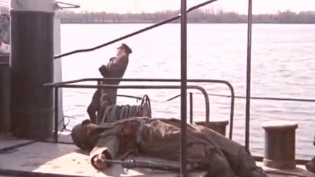 南斯拉夫二战经典 军队隐藏在岸边 袭击缴获德军船只。