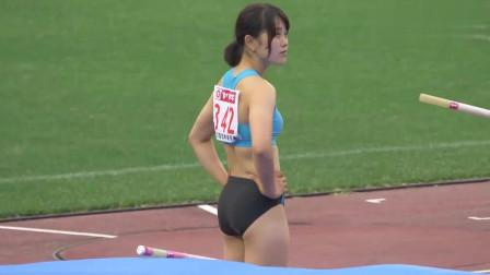 日本田径美女选手,这颜值真高,堪比仙女