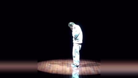 多年前,这就是街舞MC廖博的一段solo,明星都转发点赞。