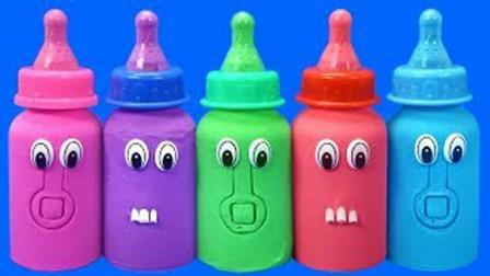 趣味亲子太空沙婴儿奶瓶魔力72变,比起彩泥冰淇淋你更喜欢哪个?