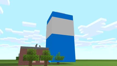 我的世界动画-怪物学院-巨型翻水瓶-CraftedEasy