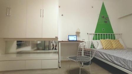深圳城市天地广场的1居室