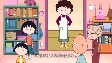 樱桃小丸子:妈妈把小丸子的漫画书没收,还说猫咪不看书的