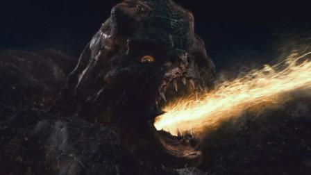 一种变异怪兽,入侵地球后疯狂攻击人类,最后却被绿灯侠打败了