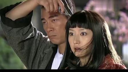 精武陈真:日本姑娘敢拿枪指着陈真,一瞬间就让她知道山外有山!
