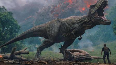 侏罗纪世界2 恐龙在火山岛受灾 新小女孩勇斗新物种暴虐迅猛龙