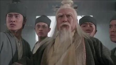 张三丰被宋青书暗算, 幸亏张无忌及时赶到, 张敏女扮男装太帅了