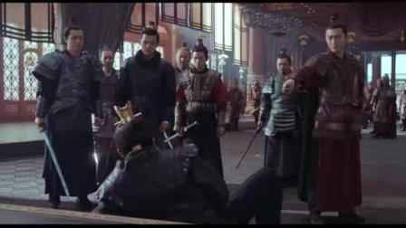 《风起长林》萧元启临死之前将东海的秘密告诉长林王!