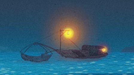 舟夜书所见