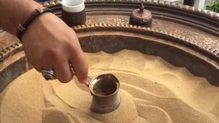 土耳其的沙子咖啡 看了几遍看不懂怎么来的咖啡!