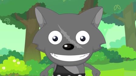 红太狼小灰灰被双刀狼盯上,灰太狼有能力保护他们吗?