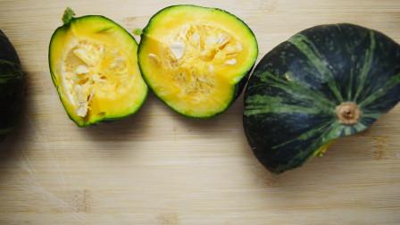 又糯又脆的香芝煎南瓜,做法简单无需烤箱